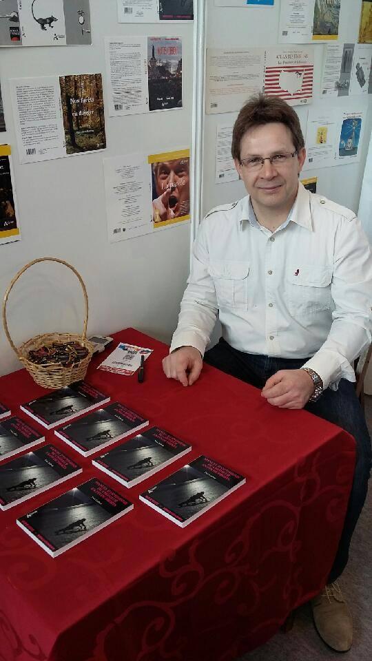 Yves Lefèvre au Salon du livre