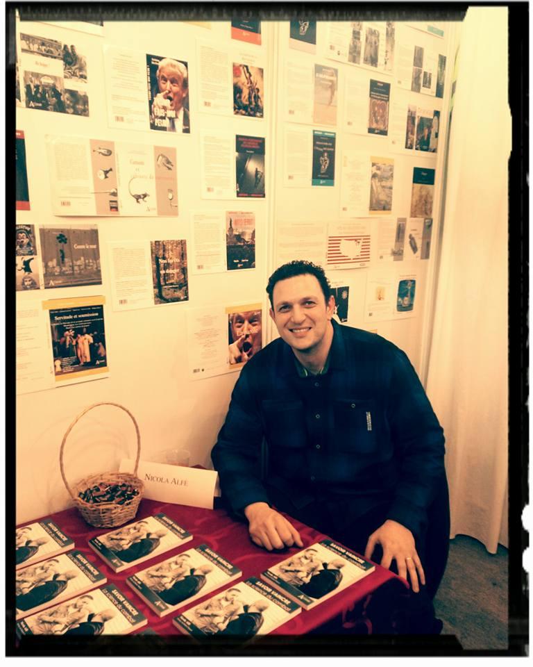 Nicola Alfè au salon du livre